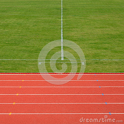 Running track and soccer