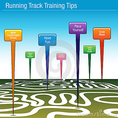 Running Track Training Tips