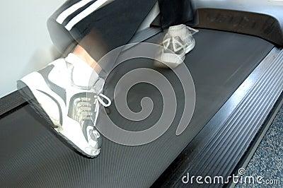 Running on treadmill 2