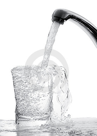 Free Running Water From Tap Stock Images - 14563984