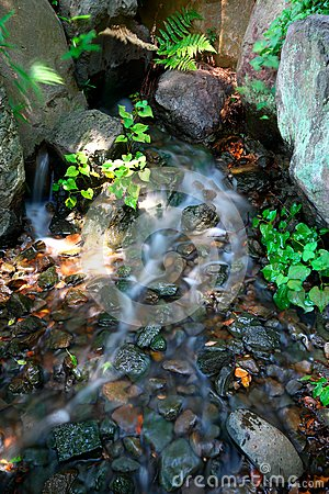 Free Running Water Over Rocks Stock Photos - 57865023