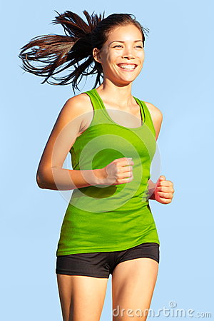 Running - Woman going for a run