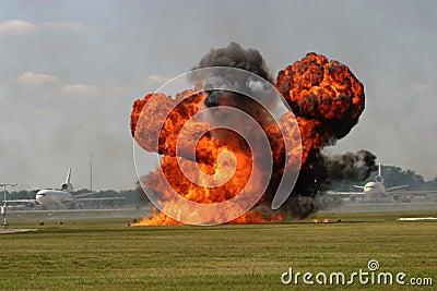 Runway Explosion
