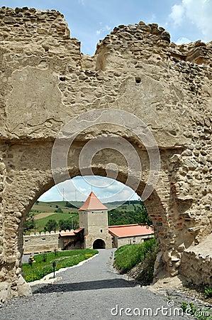 Free Rupea Newly Renovated Medieval Fortress In Transylvania, Romania Royalty Free Stock Photos - 31998258