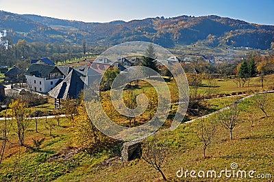 Rural accommodation village