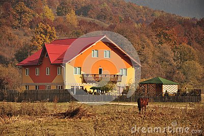 Rural accommodation village