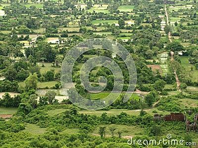Rural area of Cambodia