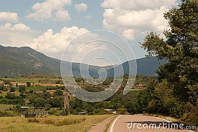 Rural area Pyrenees Catalonia Spain