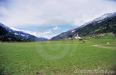 Rural Austrian Village