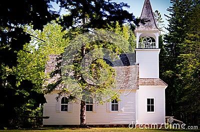 Rural Church in Michigan