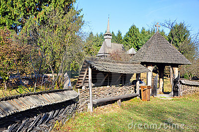 Rural gate maramures