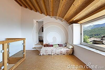 Rural home interior,