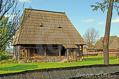 Rural household in maramures