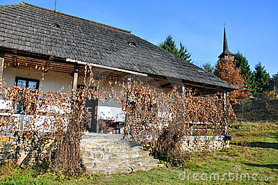 Rural household maramures