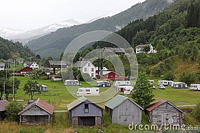 Rural houses in Norway