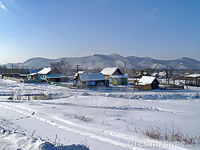 The Rural landscape in winter