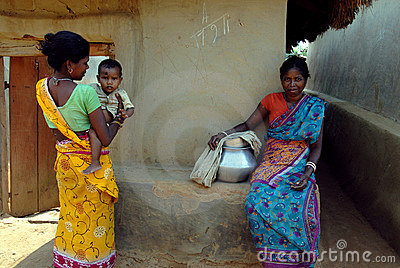 Rural Life in India Editorial Stock Photo