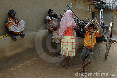 Rural Life in India Editorial Photography