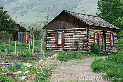 Rural Log Cabin