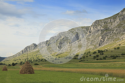 Rural mountaineous landscape