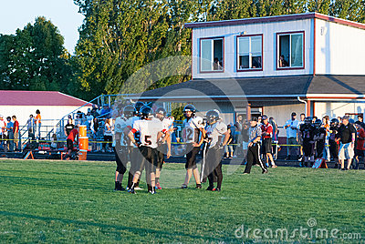 Rural Oregon high school football team.