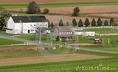 Rural Pennsylvania Farm