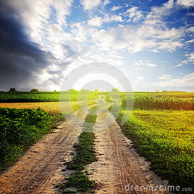 Rural Road Stock Photos - Image: 25423373
