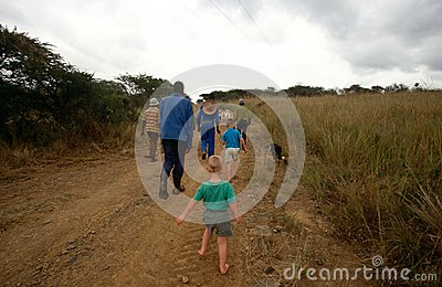 A rural scene in South Africa. Editorial Photo