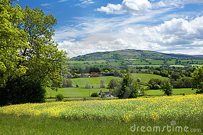 Rural Shropshire, England