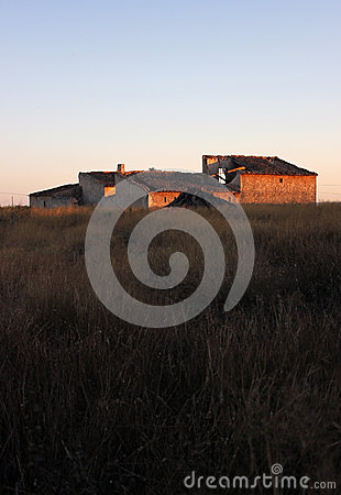 Rural spanish farm building