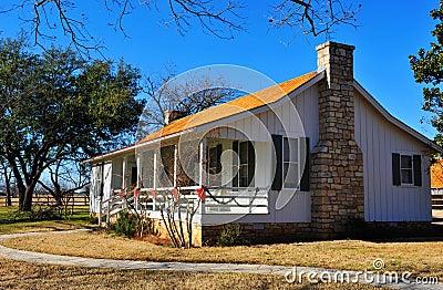 Rural suburban house