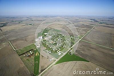 Rural town.
