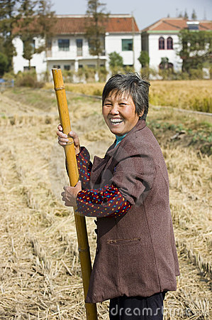 Rural women happy Editorial Photo