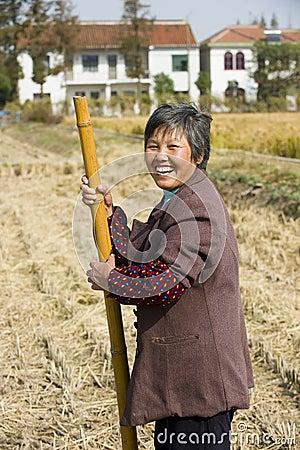 Rural women happy Editorial Photo