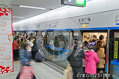 rush hour Editorial Image