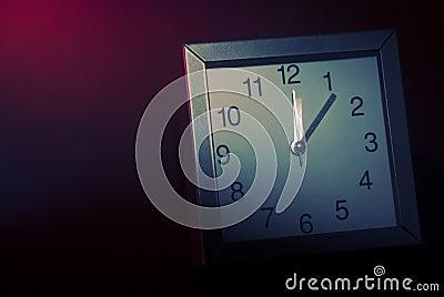 Rush hour clock