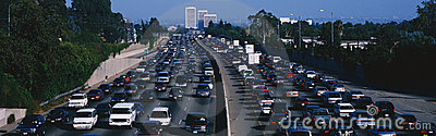 rush hour traffic Editorial Stock Image