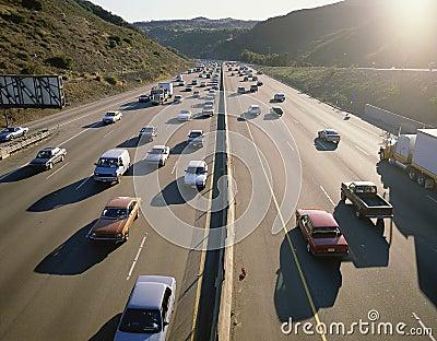 Rush hour traffic Editorial Photo