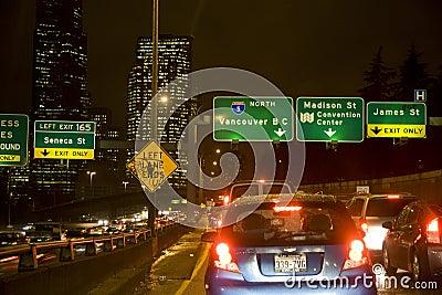 Rush hour traffic Editorial Stock Photo