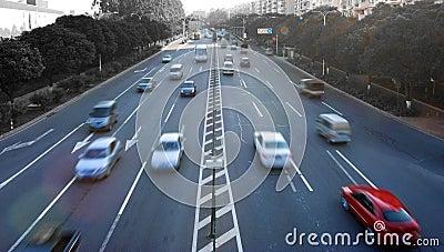 Rush traffic