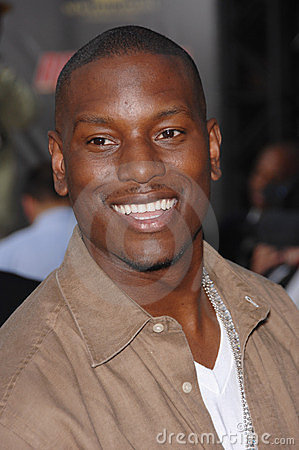 Rush, Tyrese Gibson Editorial Stock Image