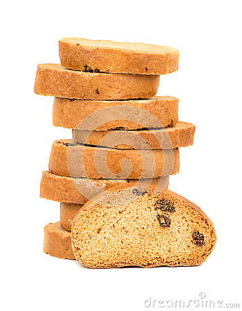Free Rusks With Raisins Stock Images - 77349644
