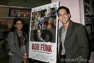 Russ Emanuel at the Los Angeles Premiere Of  Bob Funk . Laemmle s Sunset 5 Theatres, Los Angeles, CA. 02-27-09 Editorial Photo