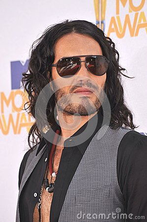 Russell Brand Editorial Stock Photo