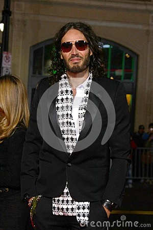 Russell Brand Editorial Photography
