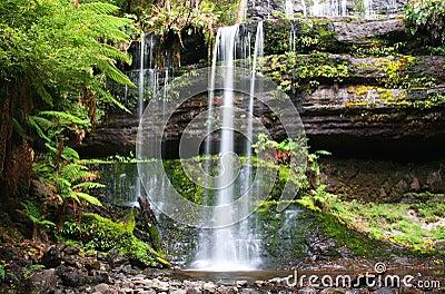 Russell Falls in Tasmania