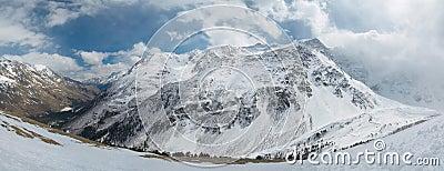 Russia. Caucasus. Mountain scenery. Panorama
