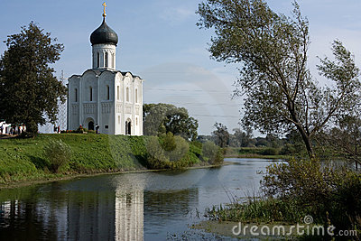 Russia: Church of the Intercession on the Nerl