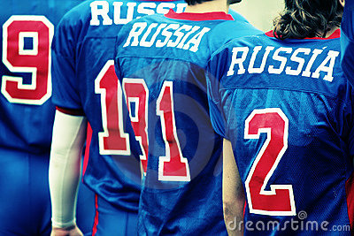 RUSSIA - football team