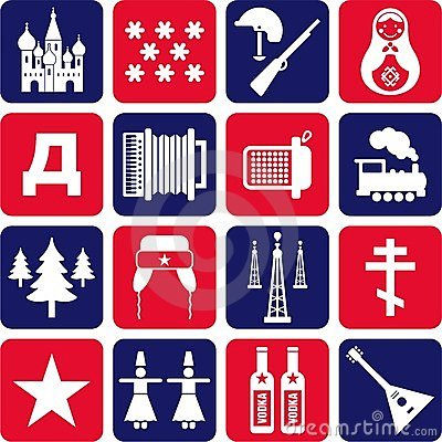 Russia icons
